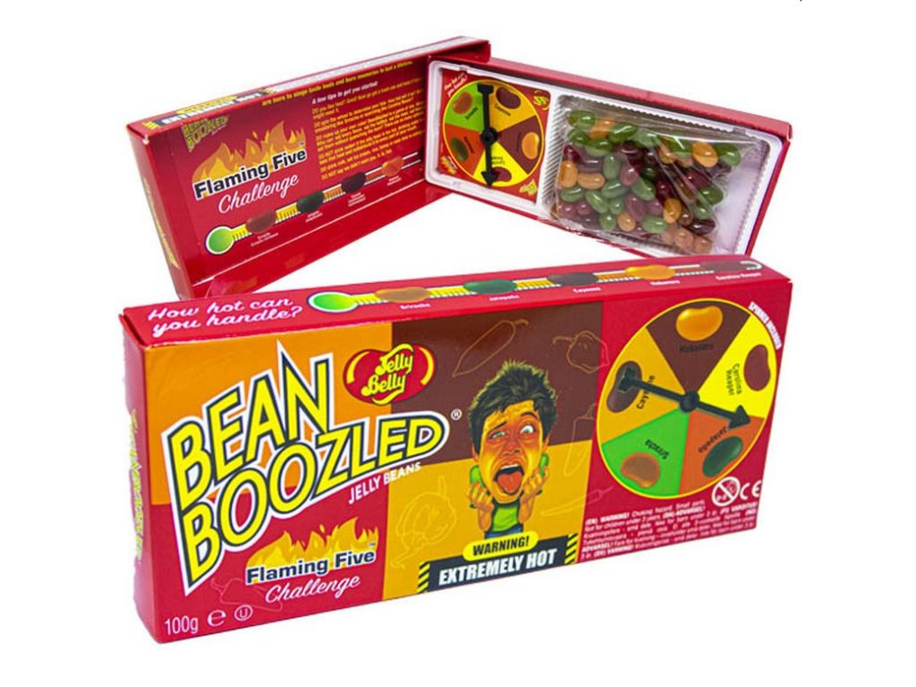 Jelly Belly Jelly Beans Bean Boozled Flaming Five 100g