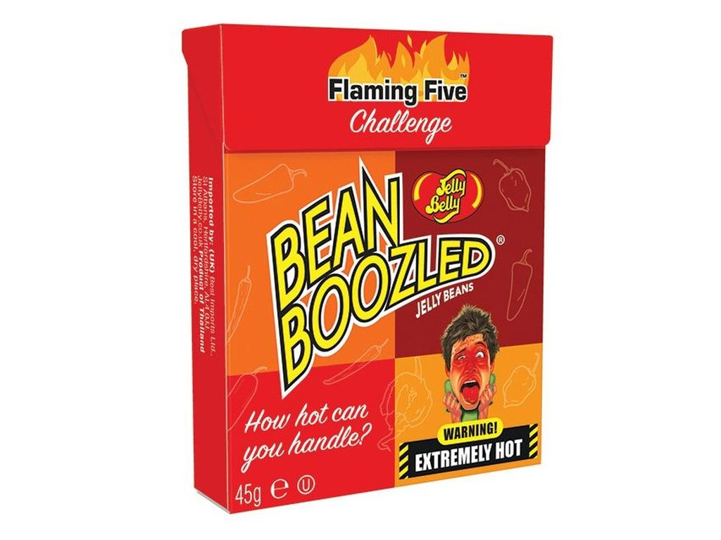 Jelly Belly Jelly Beans Bean Boozled Flaming Five 45g