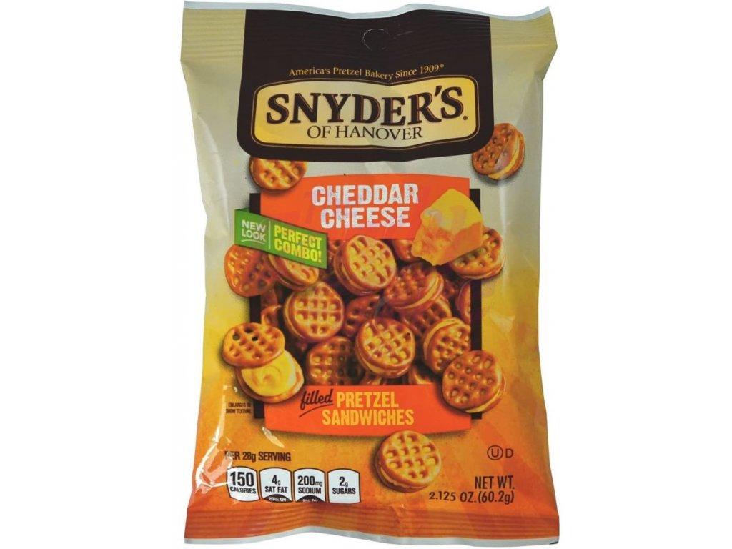 Snyders Pretzel Sandwiches Cheddar Cheese 60g
