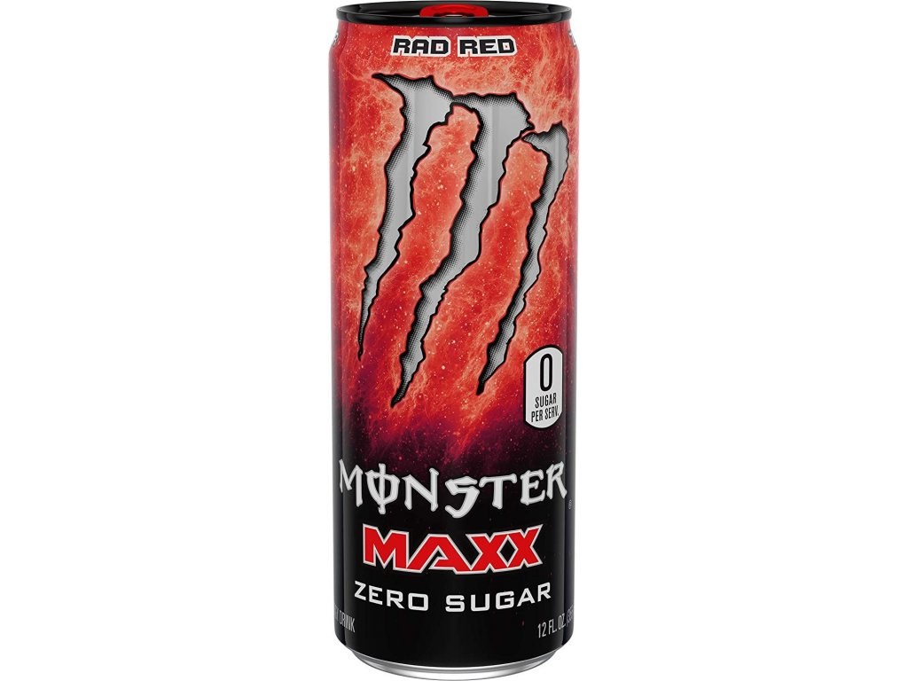 Monster Maxx Rad Red 355ml
