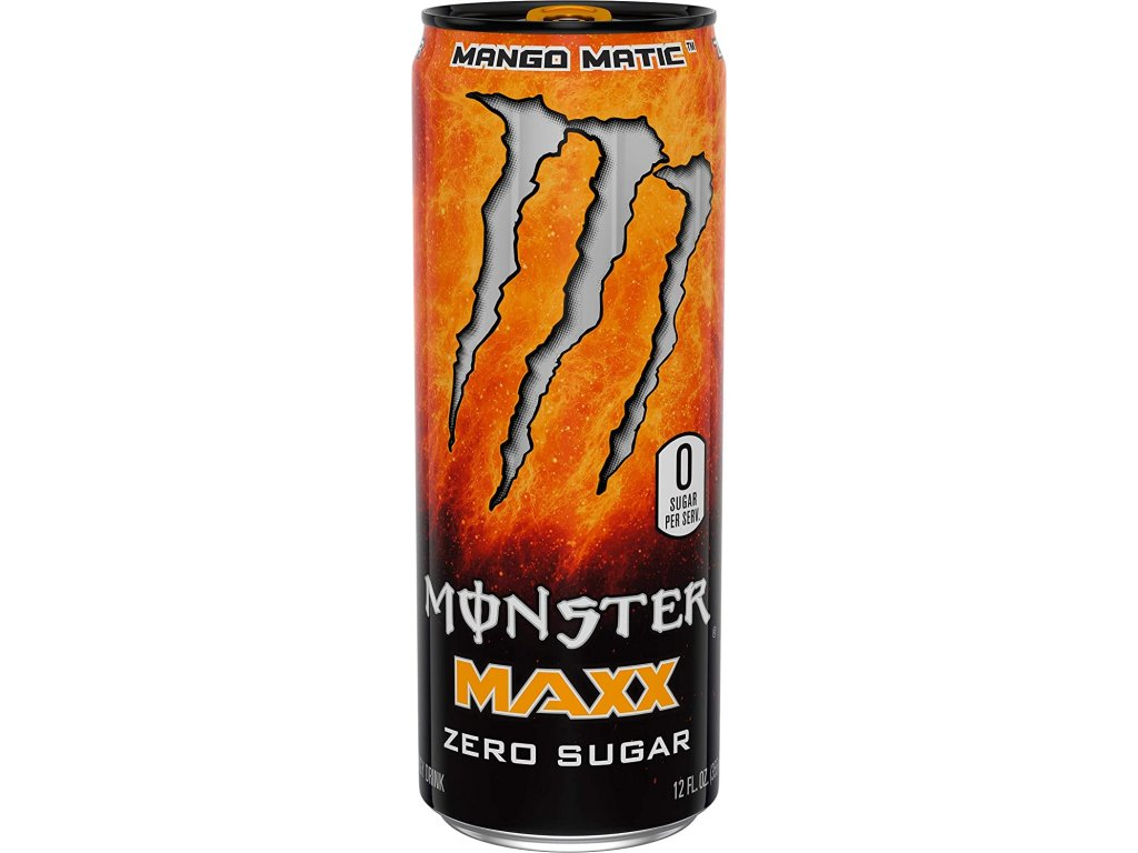 Monster Maxx Mango Matic 355ml