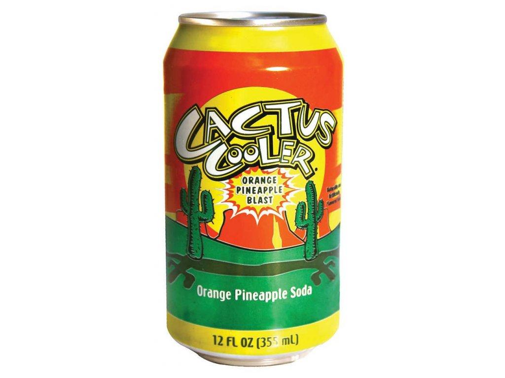 Cactus Cooler Orange Pineapple Soda 355ml