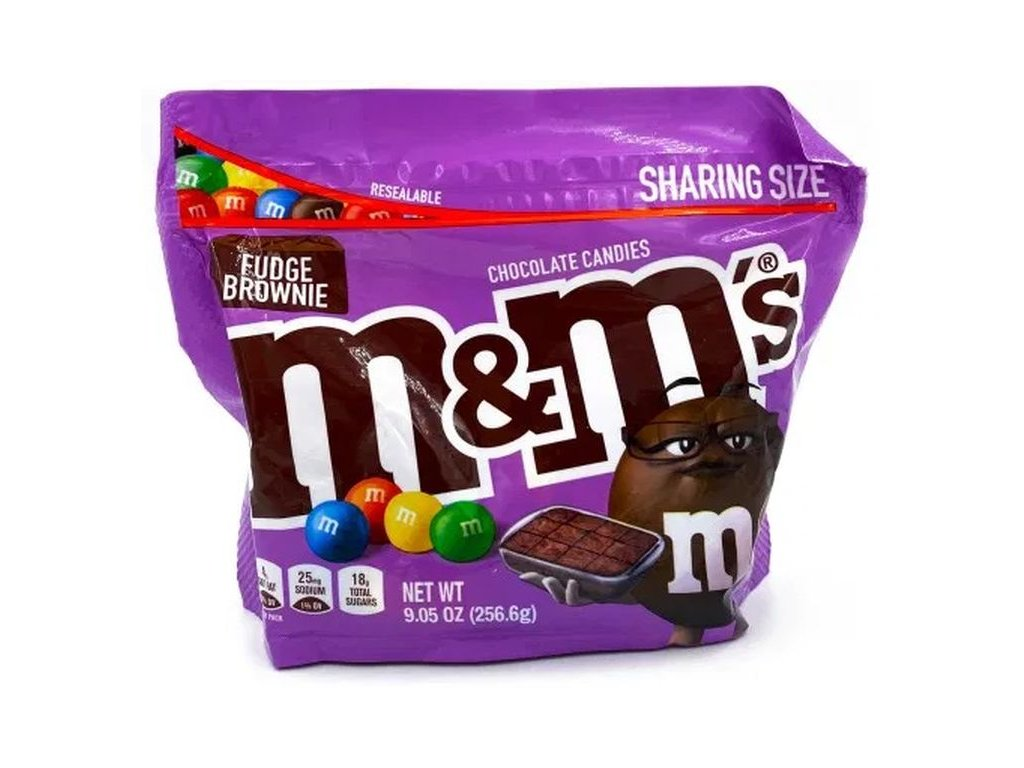M&M's Fudge Brownie Sharing Size 256.6g