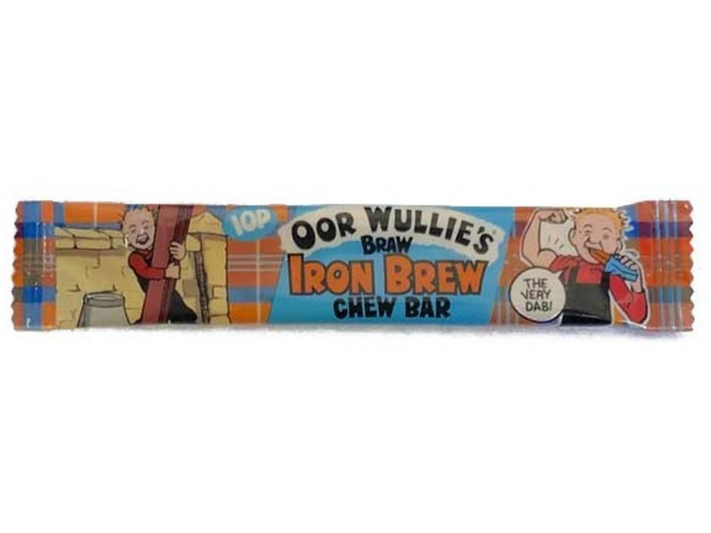 Oor Wullie's Braw IRON BREW Chew Bar 11g