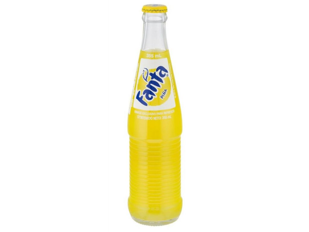 Mexican Fanta Pineapple 355ml