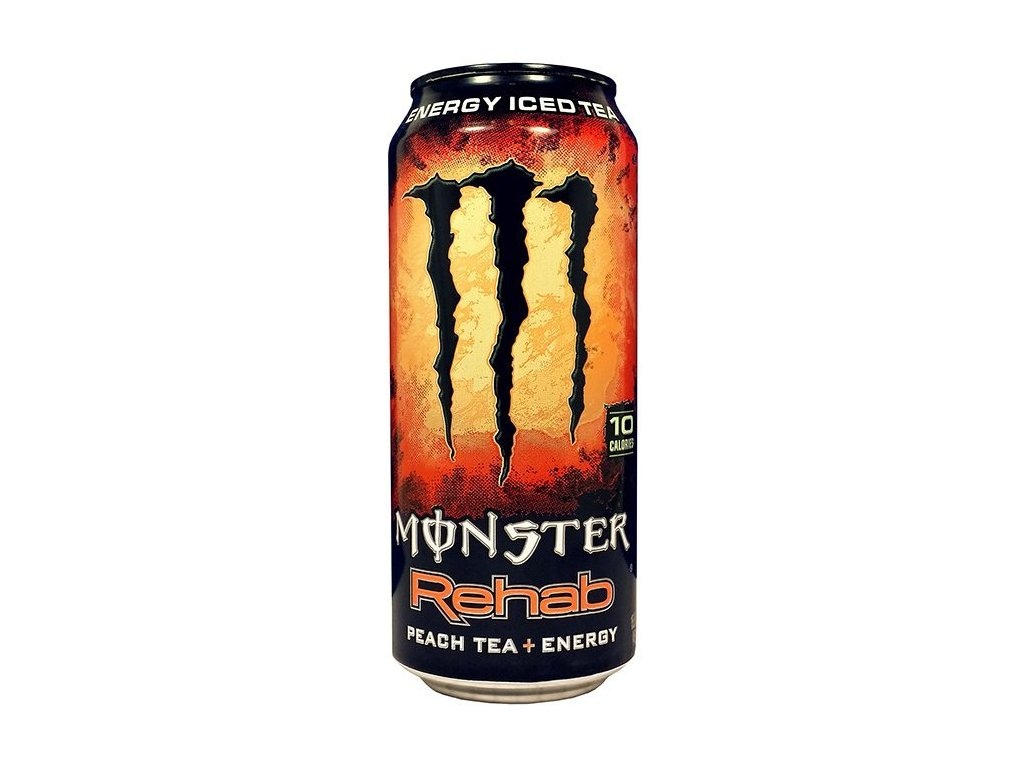 Monster USA Rehab Energy Iced Tea Peach 458ml