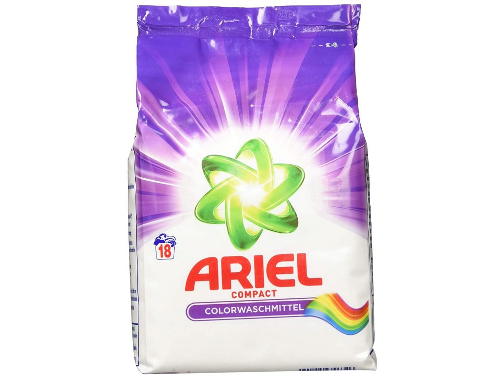 Ariel Compact Color na barevné prádlo 18 dávek 1,35kg