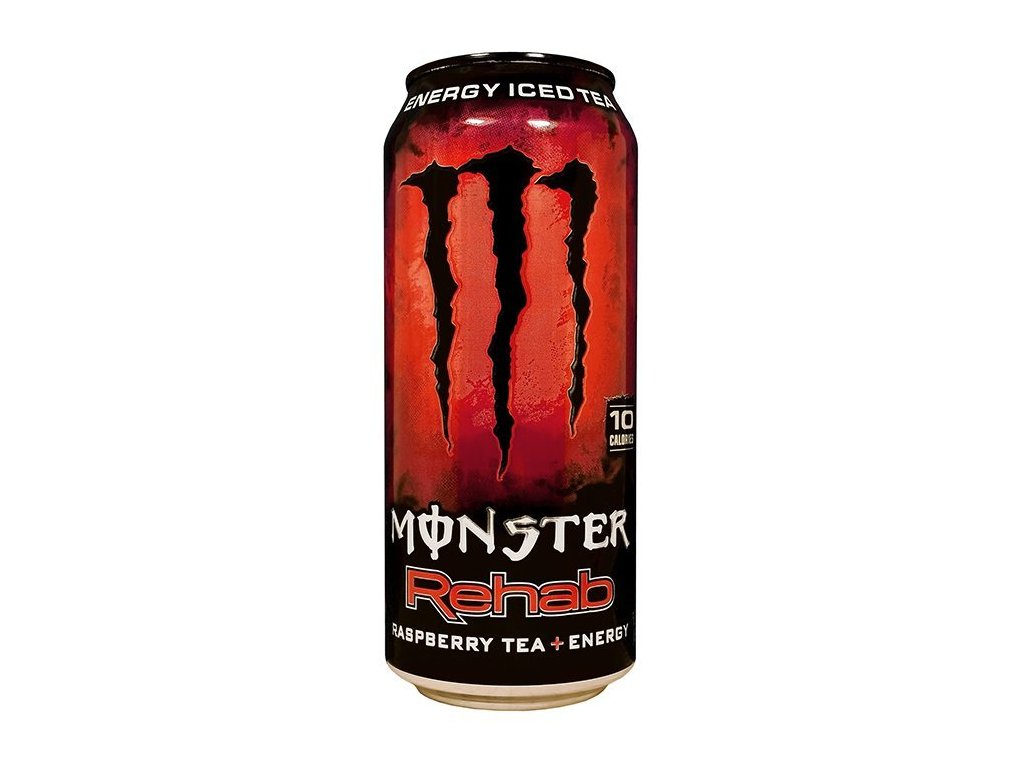 Monster USA Rehab Energy Iced Tea Raspberry 458ml