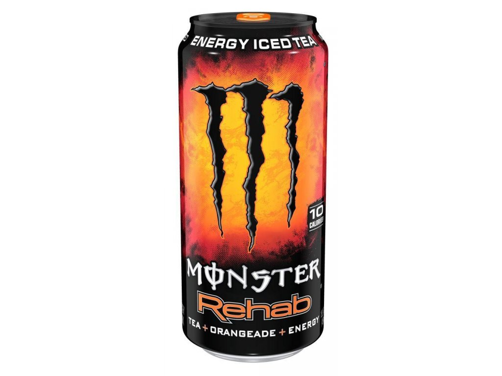 Monster USA Rehab Energy Iced Tea Orangeade 458ml