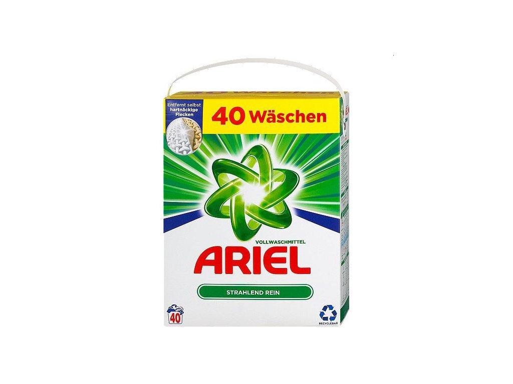 Ariel Strahlend Rein prášek 40 dávek 2,6kg