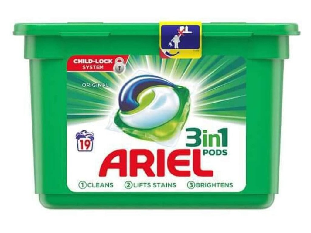Ariel Pods 3in1 Original 19 dávek 513g