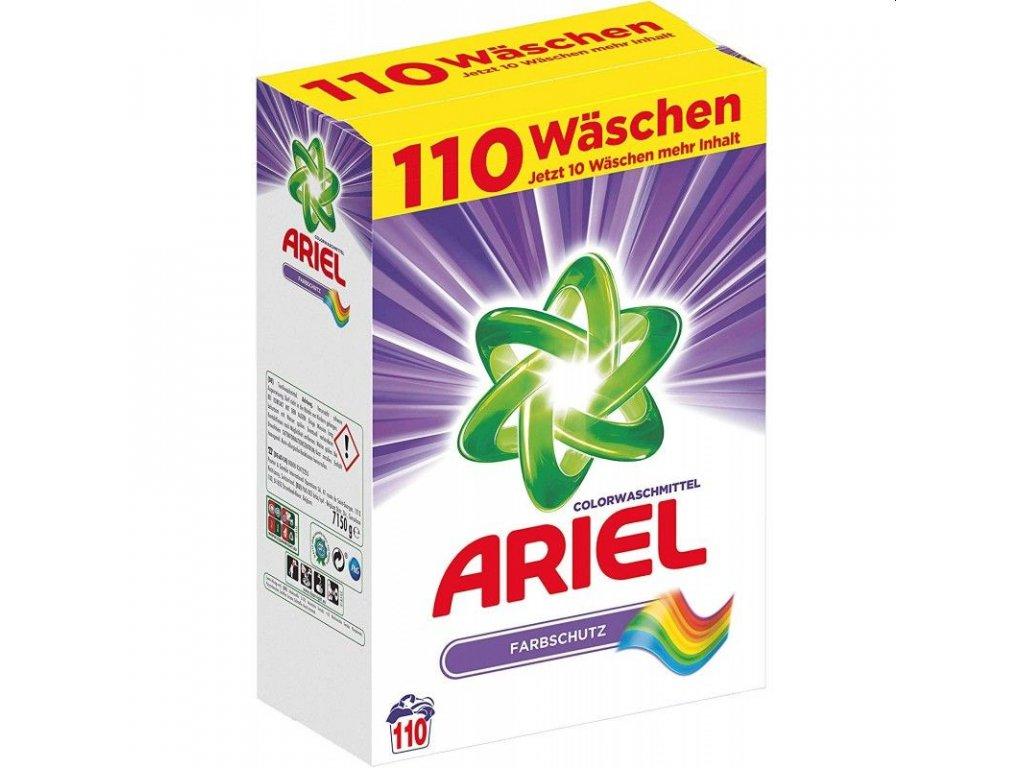 Ariel Color Farbschutz prášek na barevné prádlo 110 dávek 7,150kg