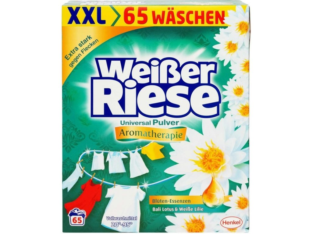 Weisser Riese Universal Aromatherapie prášek 65 dávek 3,575g