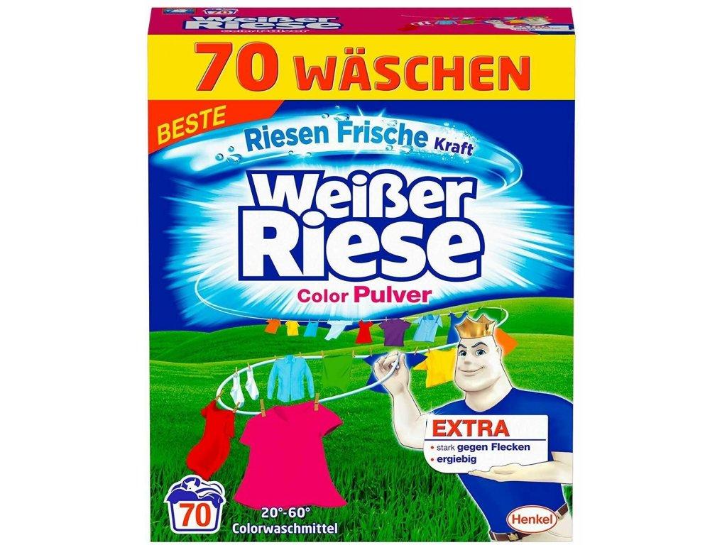 Weisser Riese Color prášek na barevné prádlo 70 dávek 3,85kg