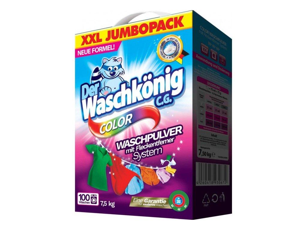 Waschkönig Color na barevné prádlo 100 dávek 7,5kg