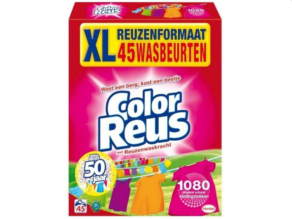 Color Reus prášek na barevné prádlo 45 dávek 2,475kg