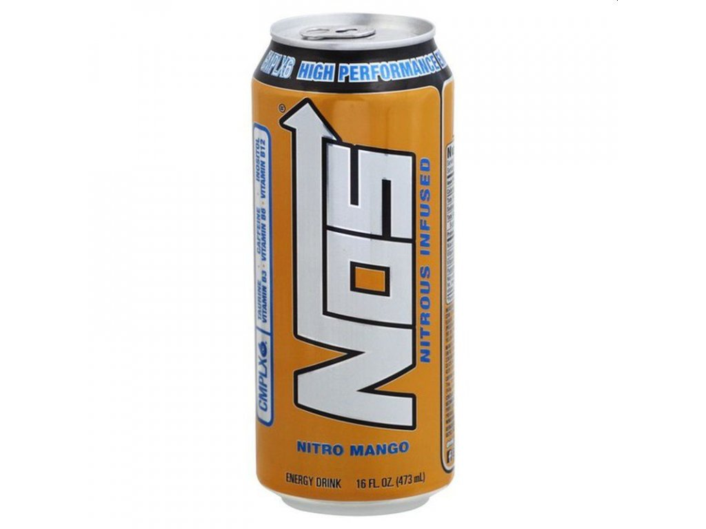 NOS Nitro Mango High Performance Energy Drink 473ml