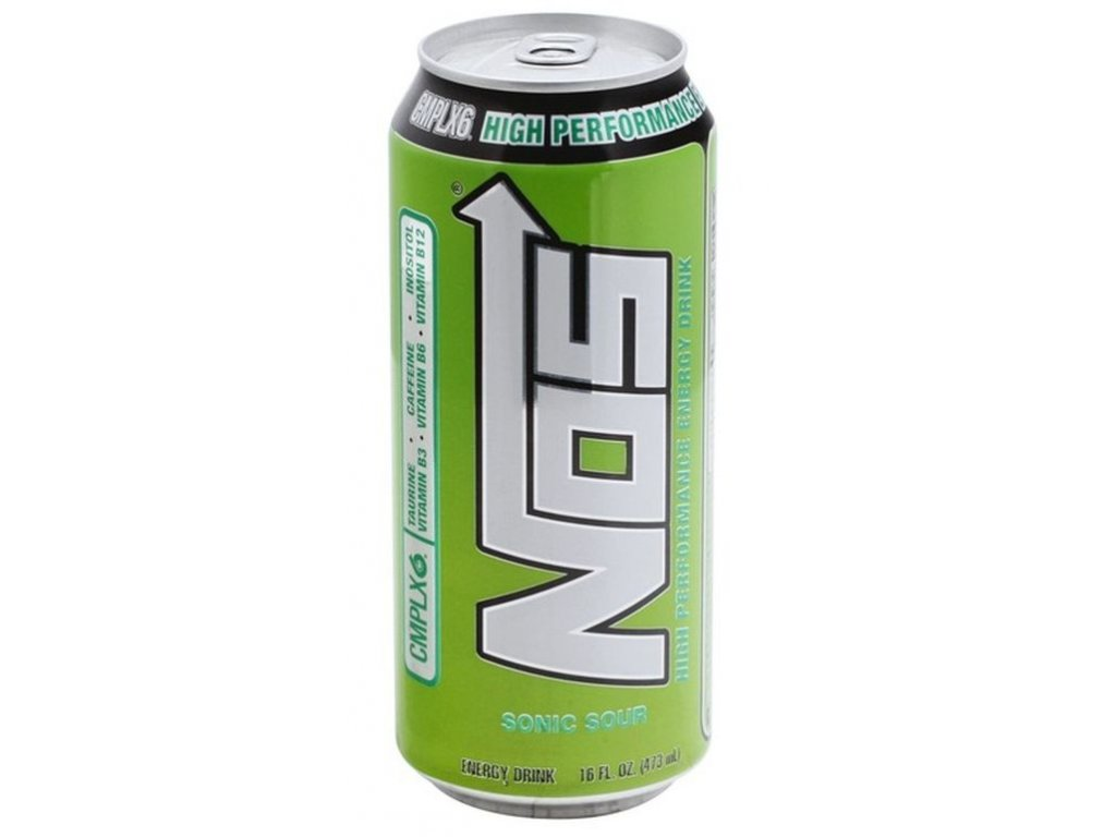 NOS Sonic Sour High Performance Energy Drink 473ml