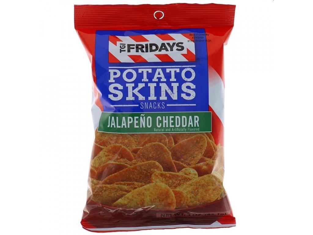 TGI Fridays Jalapeńo Cheddar Potato Skins 113g