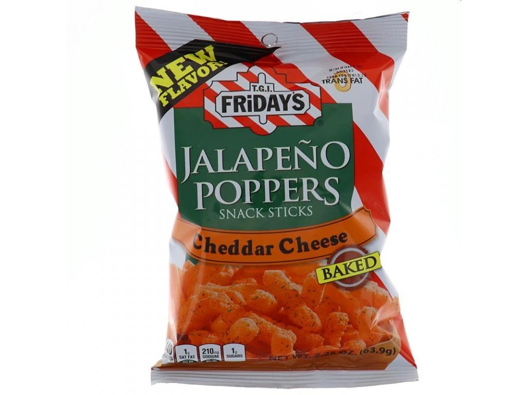 TGI Fridays Jalapeno Poppers Baked Snacks 99g