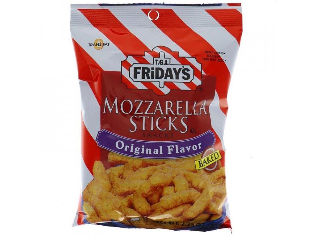 TGI Fridays Mozzarella Sticks Baked Snacks 99g
