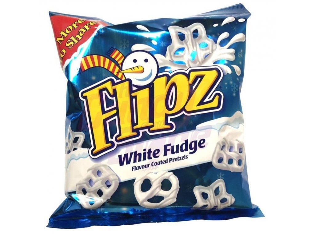 Flipz Xmas White Fudge 160g