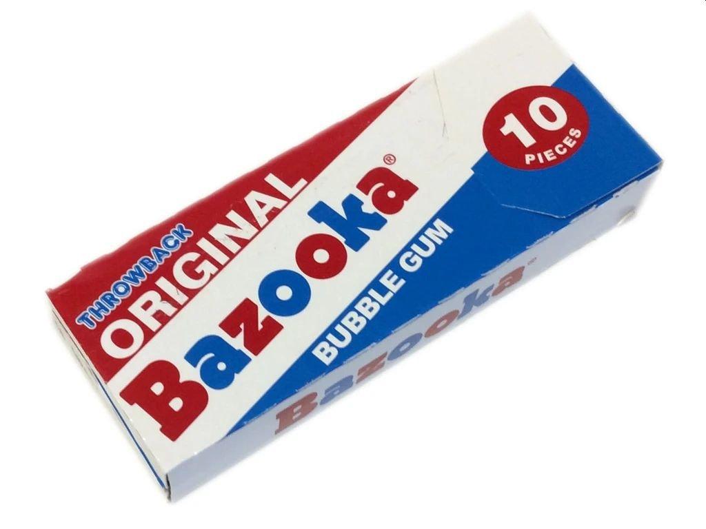 Bazooka Original Throwback 60g
