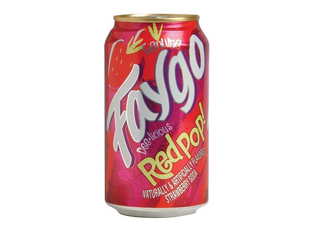 Faygo Red Pop Strawberry 355ml