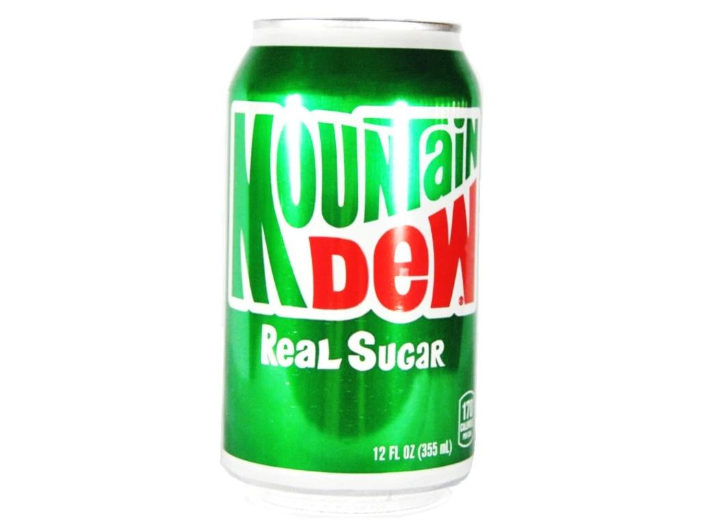 Mountain Dew Real Sugar 355ml