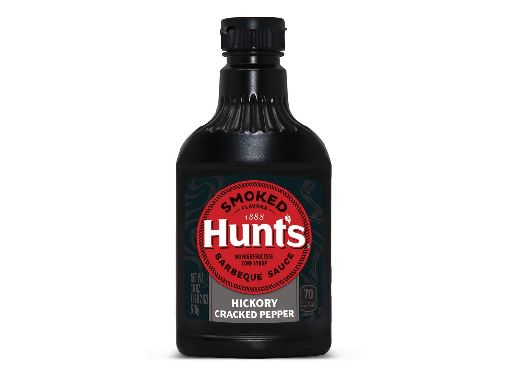 Hunt's Smoked BBQ Hickory Cracked Pepper 510g