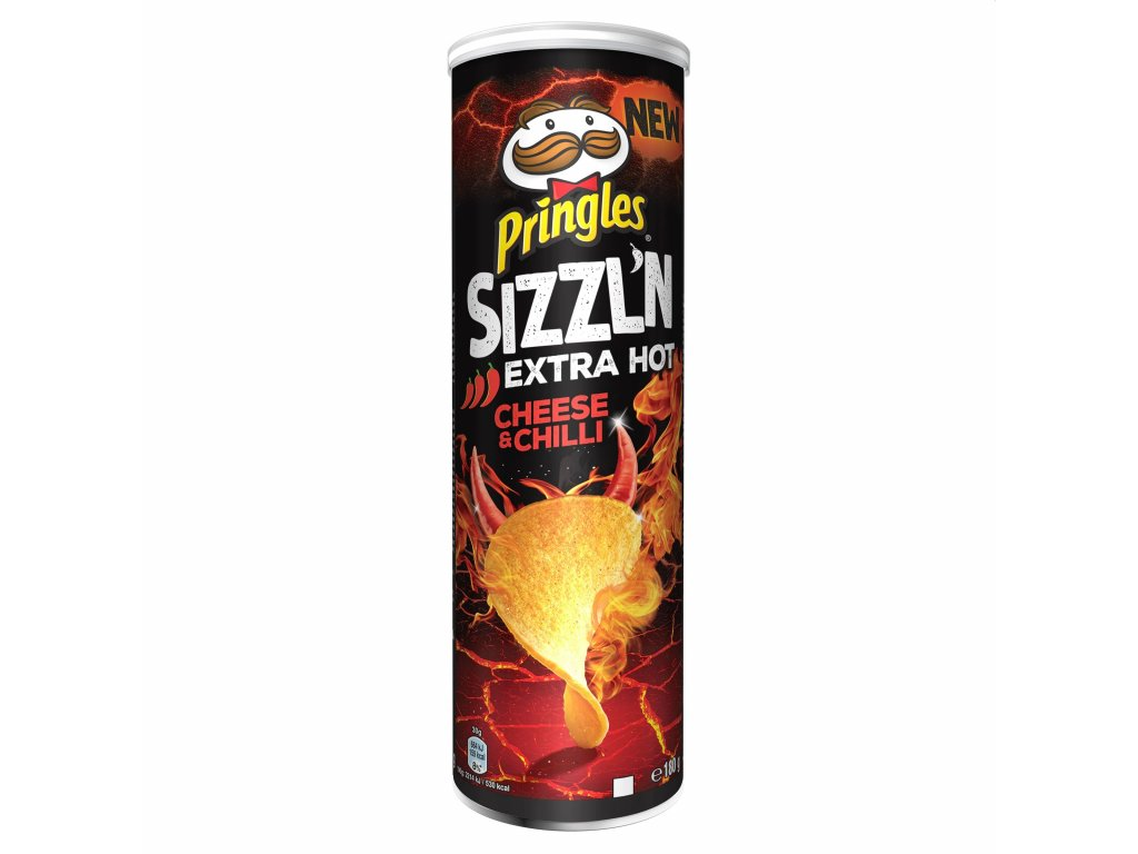 Pringles Sizzl'n Cheese & Chilli 180g