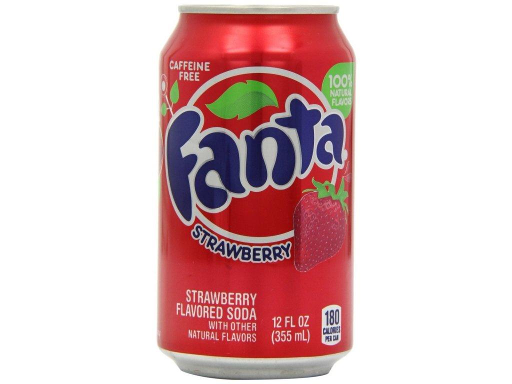 Fanta USA Strawberry 355ml