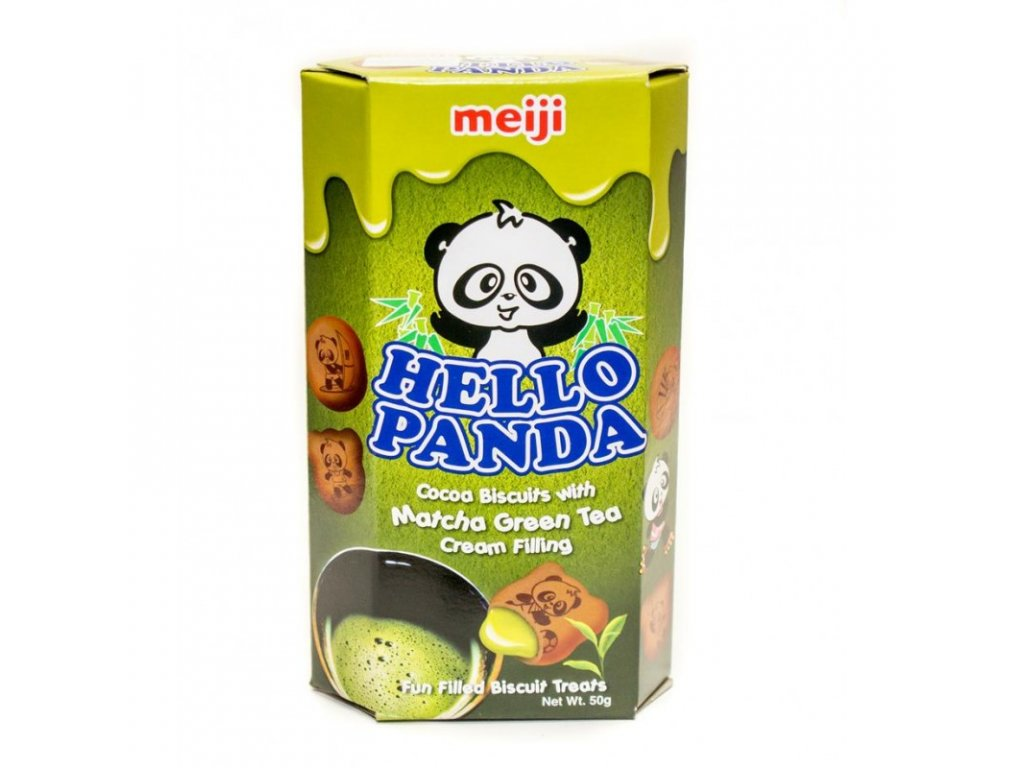 Meiji Hello Panda Matcha 50g