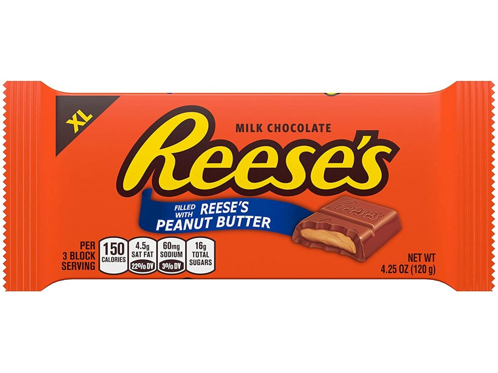 Reese's Milk Chocolate with Peanut Butter 120g
