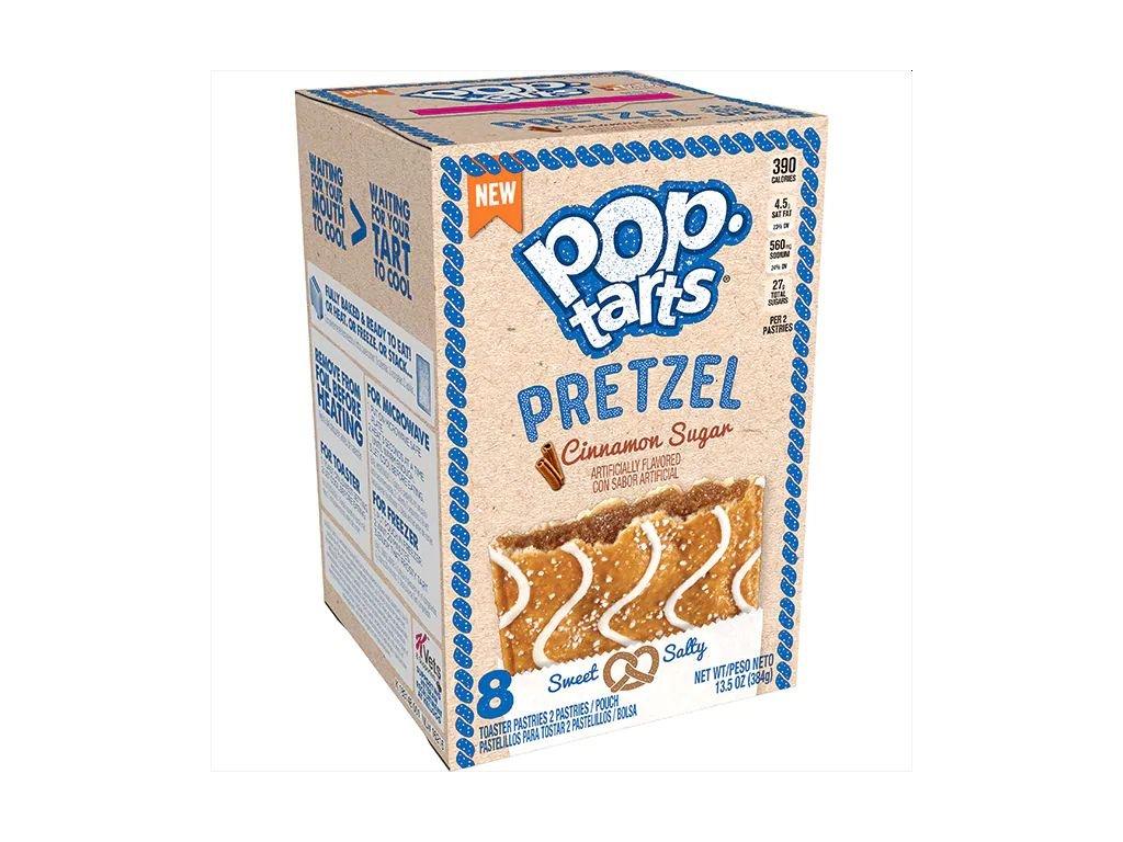 Pop Tarts Pretzel Cinnamon Sugar 384g