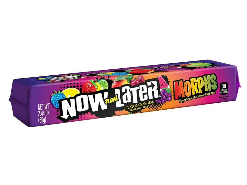 Now & Later Morphs Mixed Fruit 69g