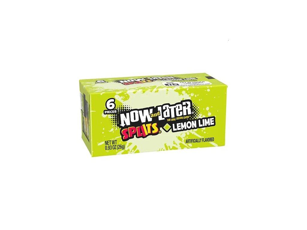 Now & Later Splits Lemon Lime 26g