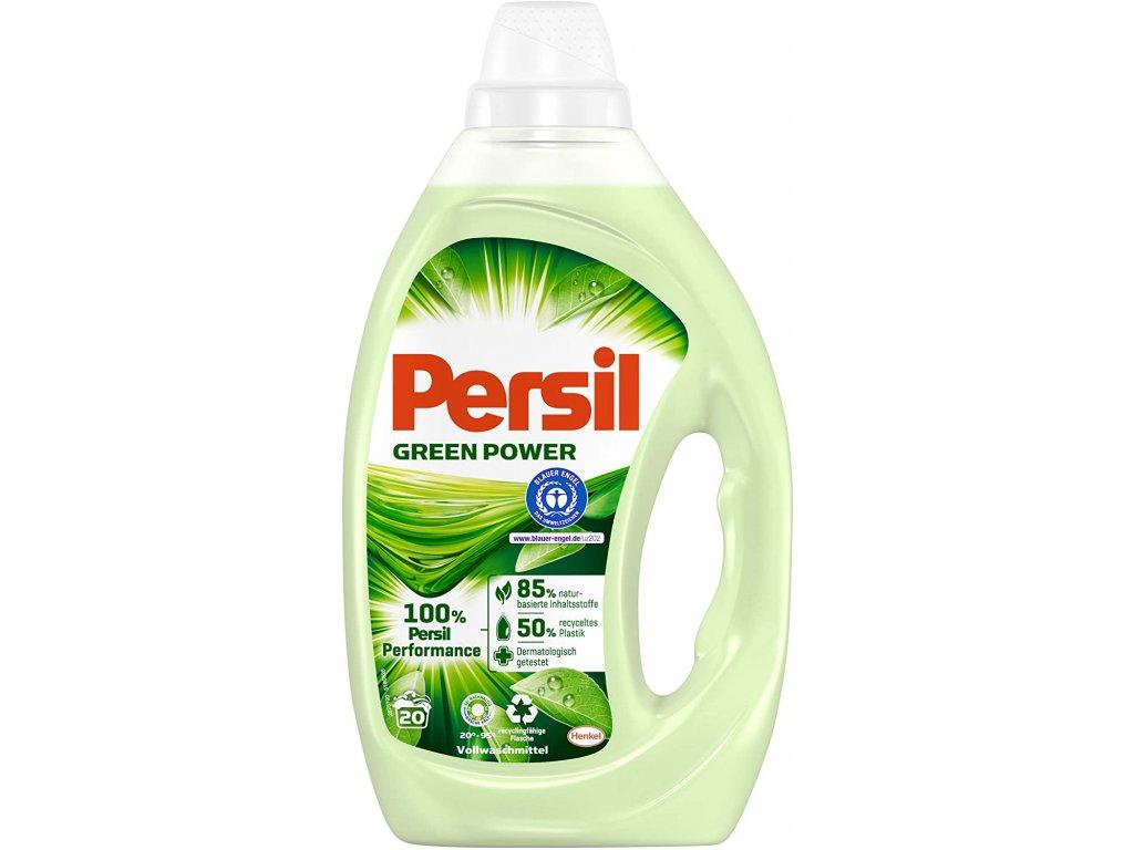 Persil Green Power Gel 20 dávek 1l