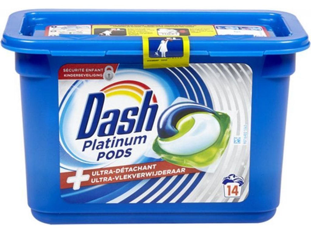 Dash Platinum Pods 14 dávek 420g