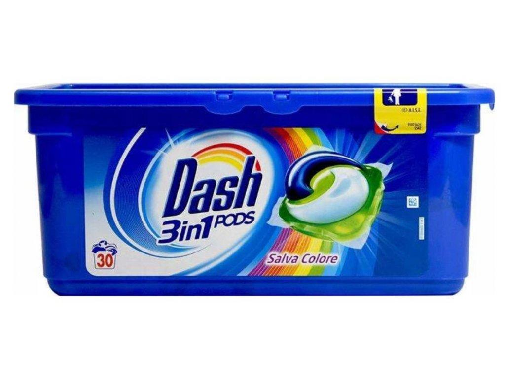 Dash All in1 Salva Colore 30 dávek 810g