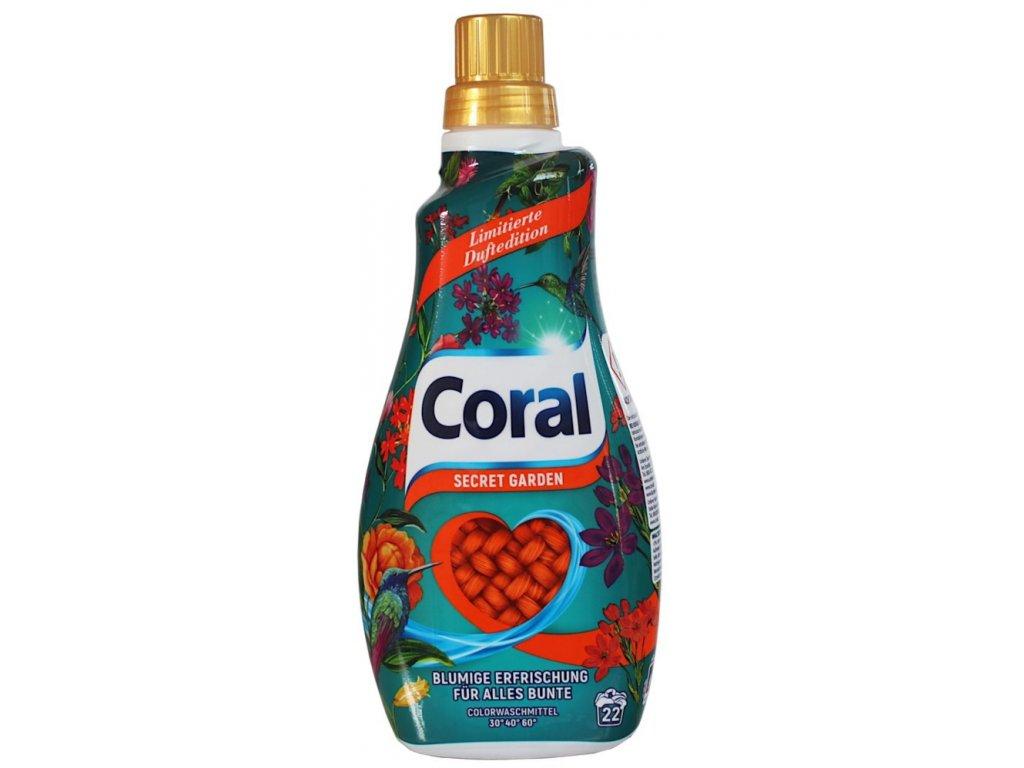 Coral Color Secret Garden prací gel 22 dávek 1,1l