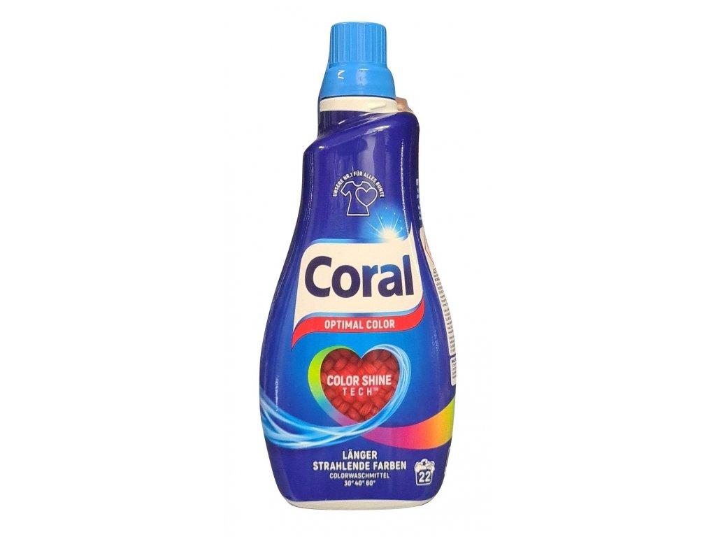 Coral Optimal Color prací gel 22 dávek 1,1l