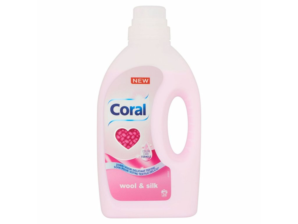 Coral Wool & Silk prací gel 26 dávek 1,25l