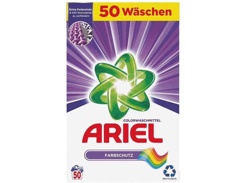 Ariel Color Farbschutz prášek na barevné prádlo 50 dávek 3,25kg