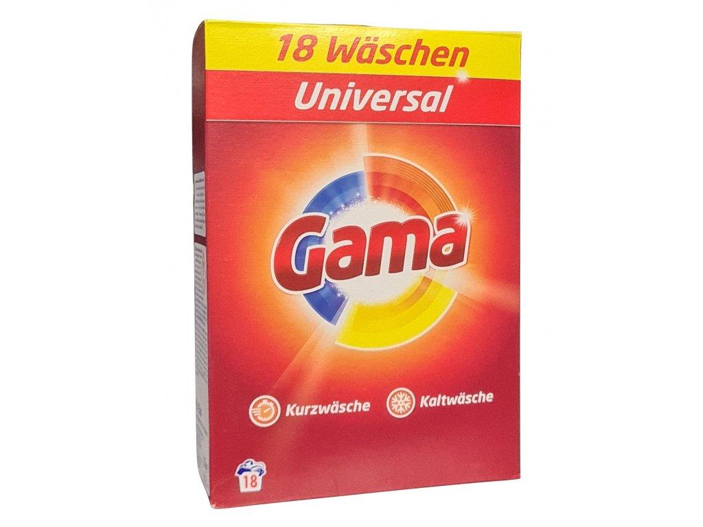 Vizir Gama Universal prášek 18 dávek 1,17kg
