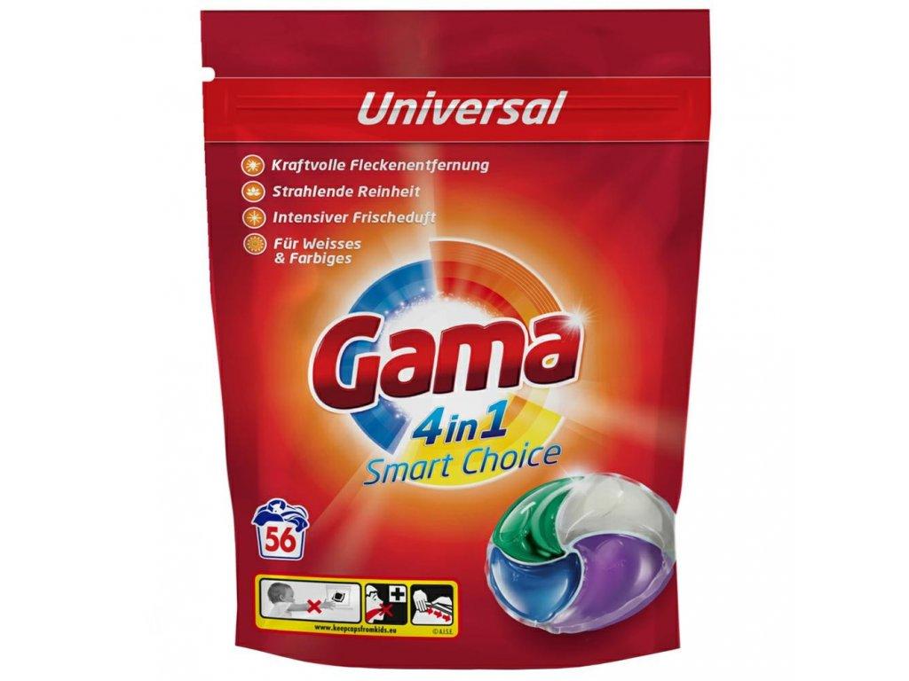 Vizir Gama Universal Caps 4in1 56 dávek 1,456kg