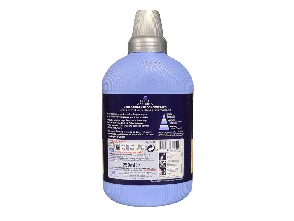 Felce Azzurra aviváž Neroli e fiori d'Arancio 30 dávek 750ml