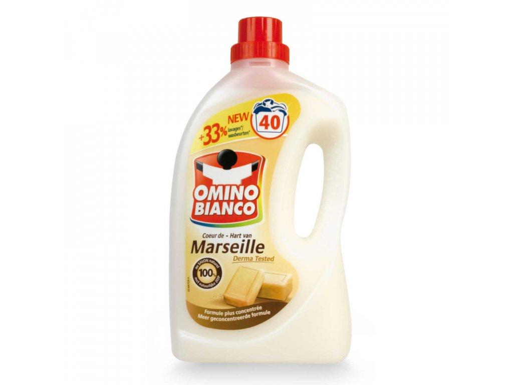 Omino Bianco prací gel Marseille 40 dávek 2l