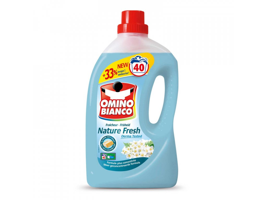 Omino Bianco prací gel Nature Fresh 40 dávek 2l