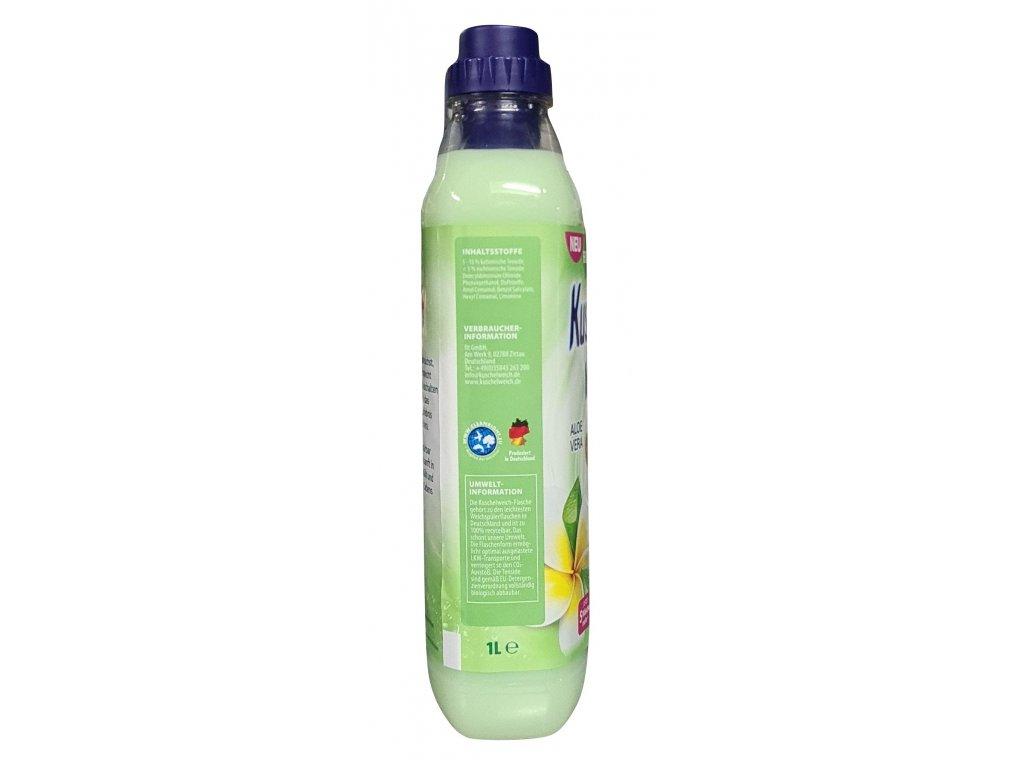 Kuschelweich Aloe Vera aviváž 33 dávek 1l